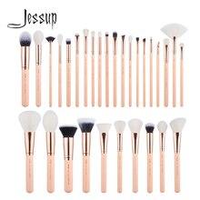Jessup pinceaux 30 pièces pinceaux de maquillage ensemble outils de beauté kits cosmétiques maquillage brosse poudre fond de teint fard à paupières BLUSH