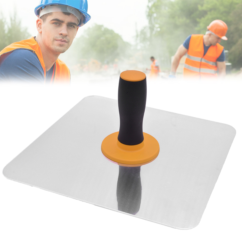 Aluminium Trowel Mortar Board Holder Construction With Handle Plastering Tool DTT88