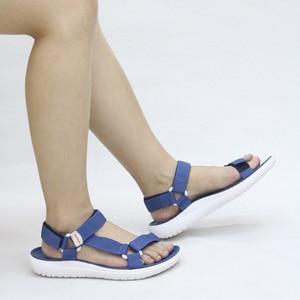 Image 5 - GRITION נשים סנדלי אופנה קיץ קל משקל חוף פלטפורמת נעלי הליכה מזדמנים נוח כחול אפור ירוק חדש