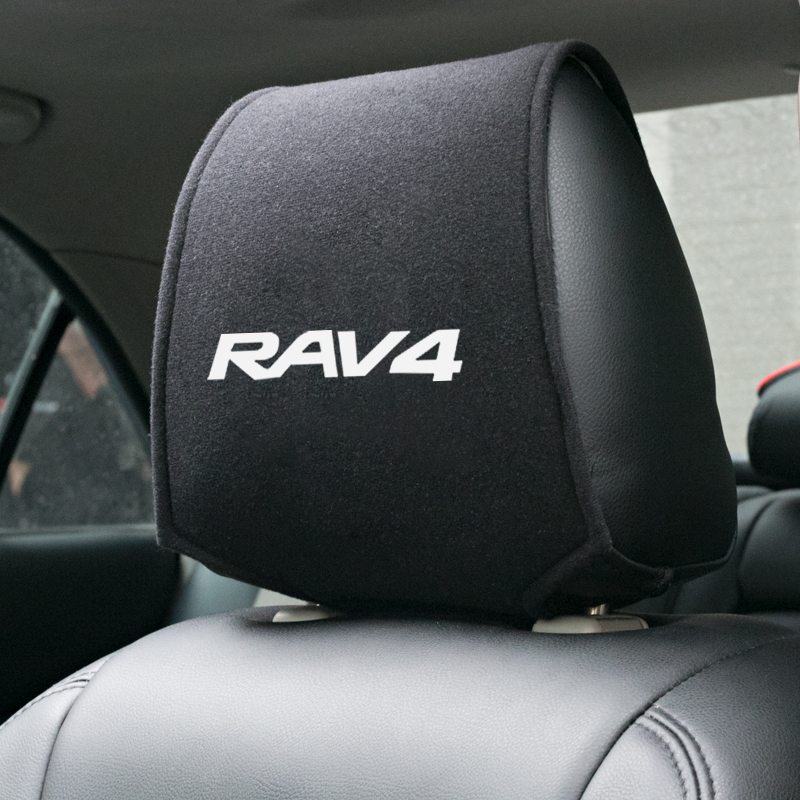 Car Styling for Toyota RAV4 Accessories Car headrest cover 1pcs-in Car Stickers from Automobiles & Motorcycles