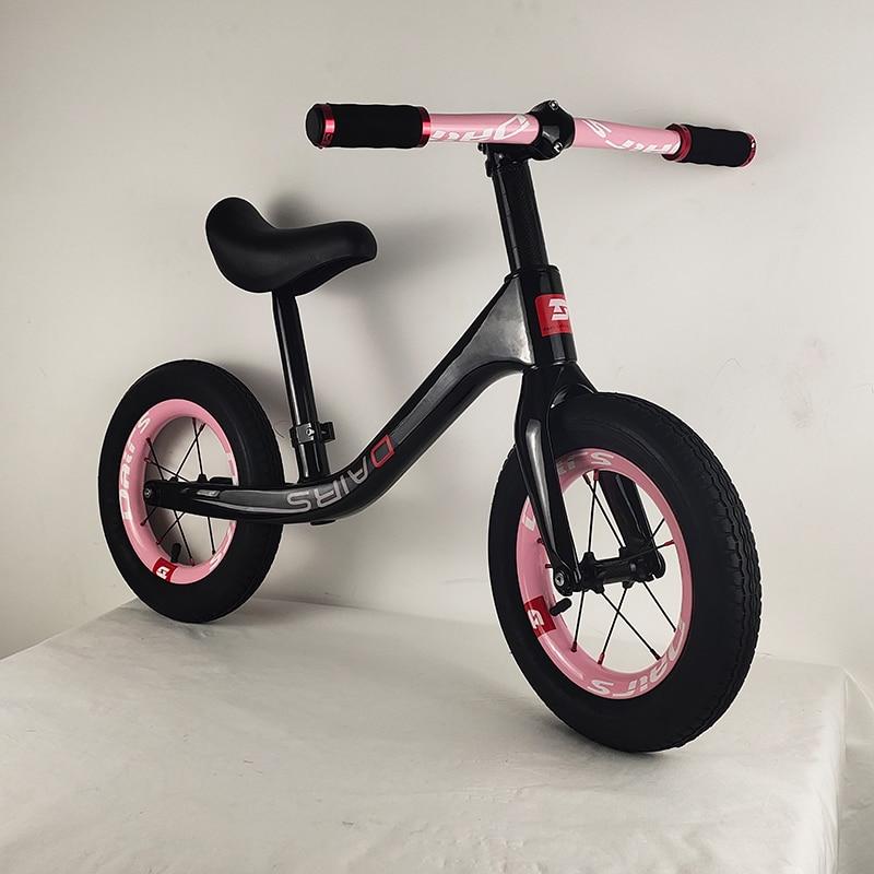 12 pouces carbone enfants vélo enfants dérapage vélo 12 pouces balance vélo 2.48kg