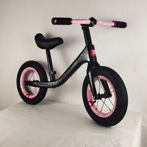 Детский углеродный велосипед, 12 дюймов, 2,48 кг