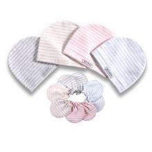 2 шт./компл. простой новорожденных Кепки комплект перчаток Мягкий хлопок; одежда для малышей, детей, младенцев анти-антицарапки шляпа подарки 19QF