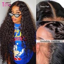 Tinashe Wasser Welle Perücke 13x6 Spitze Front Menschliches Haar Perücken 250 Dichte Spitze Frontal Perücke 4X4 6x6 spitze Schließung Lockige Menschenhaar Perücke