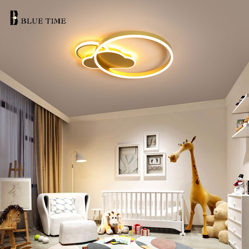 Home LED Modern Ceiling Lights For Bedroom Living Room Dining Room Flush Mount Indoor Lighting LED Lustre Ceiling Lamps