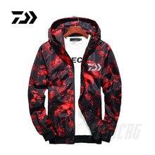 Новинка, светоотражающая одежда для рыбалки DAIWA, осенне-зимняя одежда для кемпинга, рыбалки, мужская и женская уличная камуфляжная куртка для рыбалки