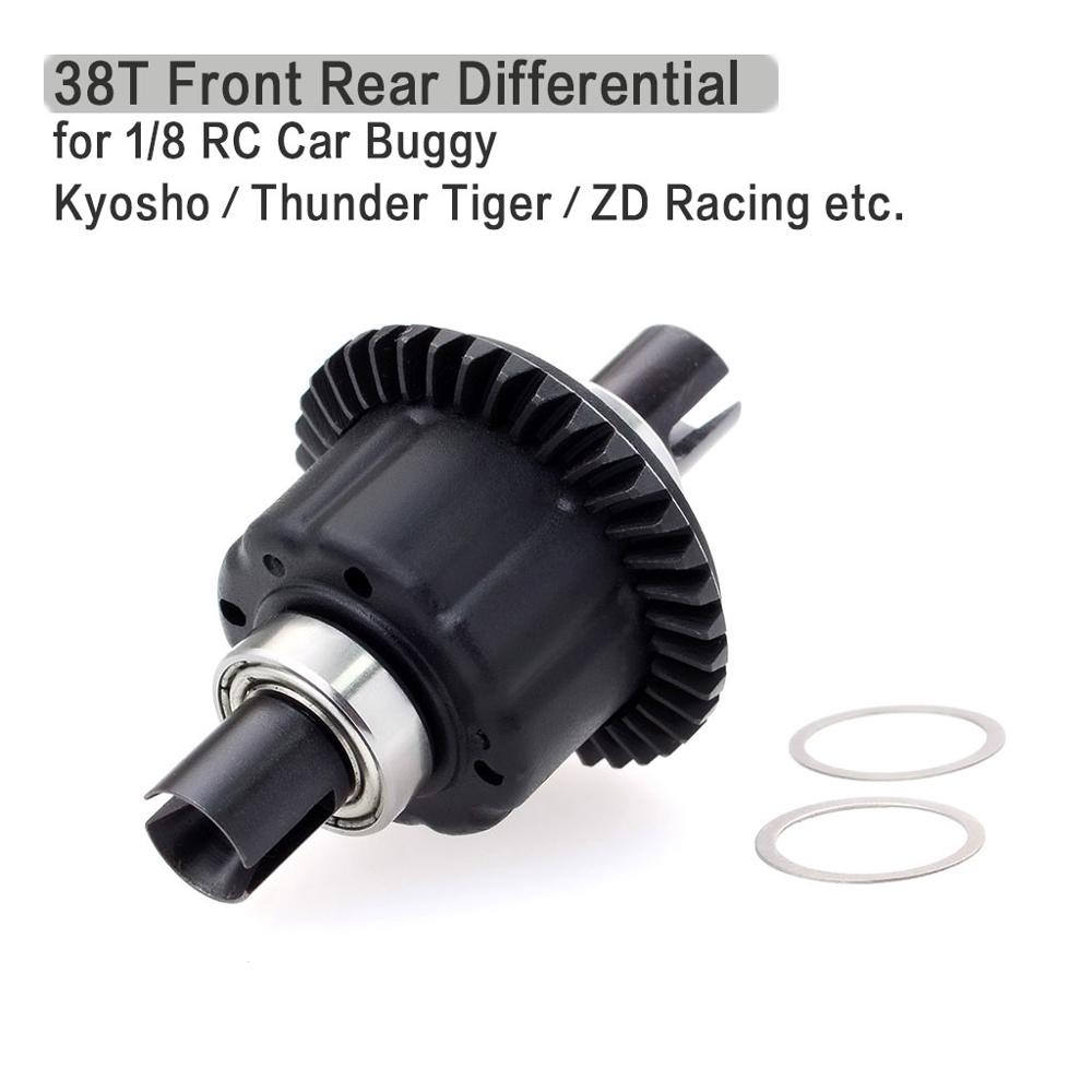 38T Steel Making Front Rear Differential for 1/8 Kyosho Thunder Tiger RC Car Buggy Truck Truggy SCT DF- Models 6737