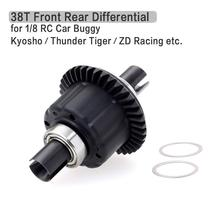38T Steel Making Front Rear Differential for 1/8 Kyosho Thunder Tiger RC Car Buggy Truck Truggy SCT DF- Models 6737 Differential