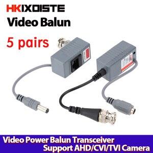 Image 1 - 2 adet BNC Konnektör Koaksiyel Kablo Adaptörü güvenlik kamerası Pasif Video Balun Telsiz Konnektörü ücretsiz kargo