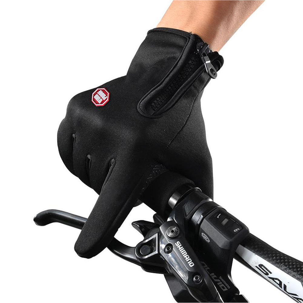 Cycling waterproof windproof warm gloves outdoor climbing sports climbing cold ski thickening gloves