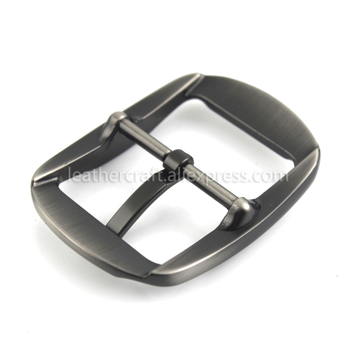 Heavy Duty Silver Round Center Bar Replacement Men/'s Belt Buckle Fits 40mm Belts