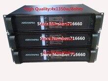 2 pçs alta qualidade fp10000q amplificador, 4x135 0w/8ohm rms