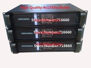 Image 1 - 2pcs high quality FP10000Q amplifier,4x1350w/8ohm rms
