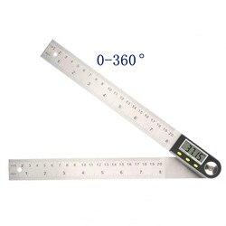 Pantalla numérica electrónica ángulo regla para ángulos de carpintería regla angular medidor de inclinación regla horizontal