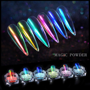 Image 3 - Poudre de paillettes dongle miroir de poussière dongle effet caméléon Chrome Pigment poudre dongle décorations dart dongle