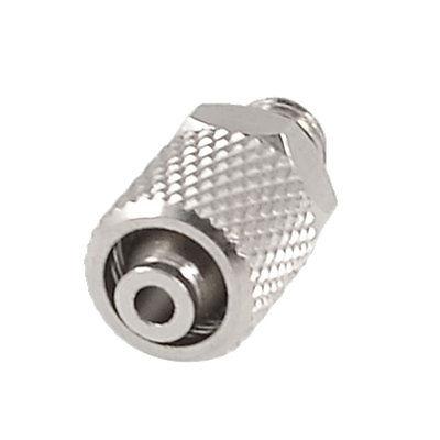 Işıklar ve Aydınlatma'ten Konnektörler'de 5mm Erkek Konu 4mm x 6mm Tüp Düz Hızlı Bağlantı Elemanı Bağlantı parçaları title=