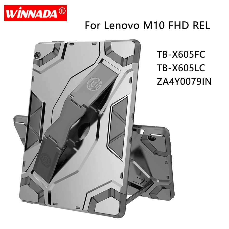 Armor Case For Lenovo Tab M10 TB-X605 Protective Tablet Cover For Lenovo M10 FHD REL TB-X605FC TB-X605LC ZA4Y0079IN Coque