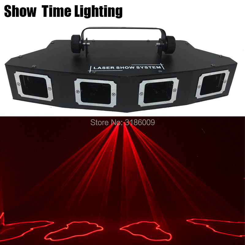 Good Effect Beam Line Scan Laser RGB 3IN1 Full Color Disco Laser 4Lens Sector DJ Lazer Good Use For Home Party KTV Night CLub