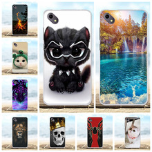 For BQ S 5035 Velvet Phone Case Soft TPU Silicone Cover Scenery Patterned BQS-5035 Funda Coque