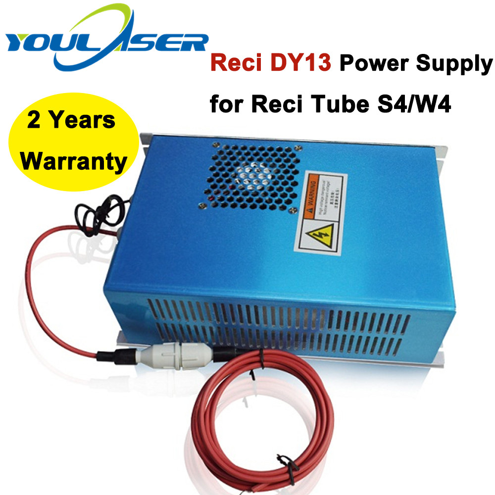 100W RECI CO2 Laser Tube Power Supply DY13 For Co2 Laser Engraving And Cutting Machine