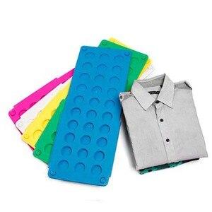 Vêtements à la maison pliant conseil t-shirt haut dossier facile et rapide enfant pli vêtements blanchisserie dossiers vêtements