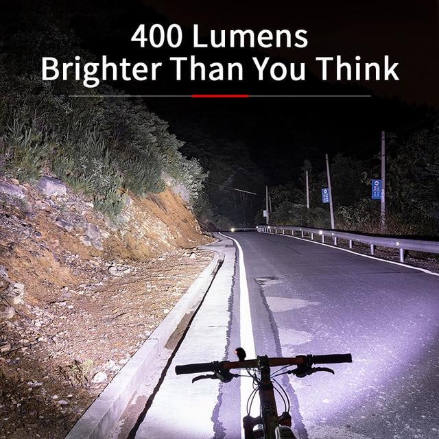 Rockbros luz da bicicleta à prova de chuva usb recarregável led 2000mah mtb frente lâmpada do farol alumínio ultraleve lanterna bicicleta luz 2