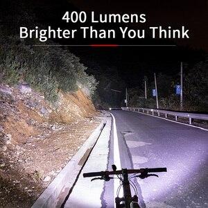 Image 2 - ROCKBROS Bike Light Rainproof USB Rechargeable LED 2000mAh MTB Front Lamp Headlight Aluminum Ultralight Flashlight Bicycle Light