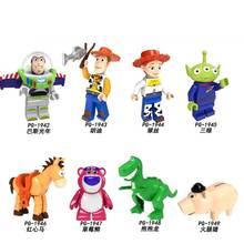 Робот disney Toys Story 4 фигурка 5 см детские игрушечные инопланетяне Базз Лайтер строительные блоки детские игрушки для детей