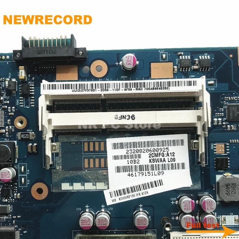 Newrecord dabdbdmb8f0 a000241240 para toshiba satélite p70