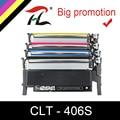 Cartuccia di toner compatibile per samsung 406s k406s CLT-406S CLT-K406S C406S Y406S CLP-360 365w 366W CLX-3305 C460FW 3306FN 3305W