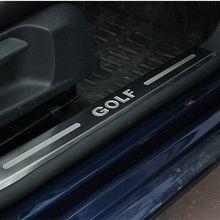 Накладки для порогов автомобиля щитки для VW GOLF 6 MK6 2009 2010 2011 2012 5 двери HB