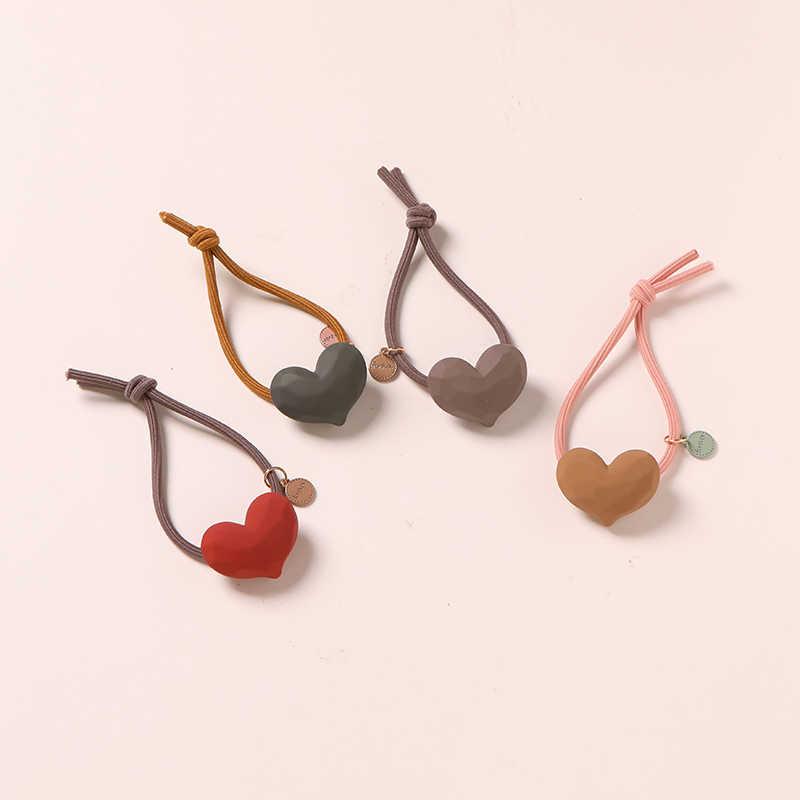 YYOUFU 8 個セットの髪のロープのゴムバンドの毛リングセット革ヘッドロープ韓国の小さな新鮮なとシンプルな人格素敵な