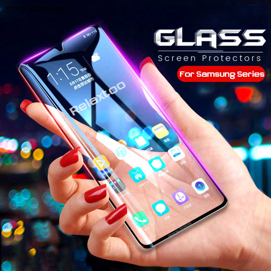screen protector tempered glass for samsung galaxy a6 a8 a7 plus a9 2018 a10 a20 a20e a30 a40 a50 a60 a70 2019 armor glas film