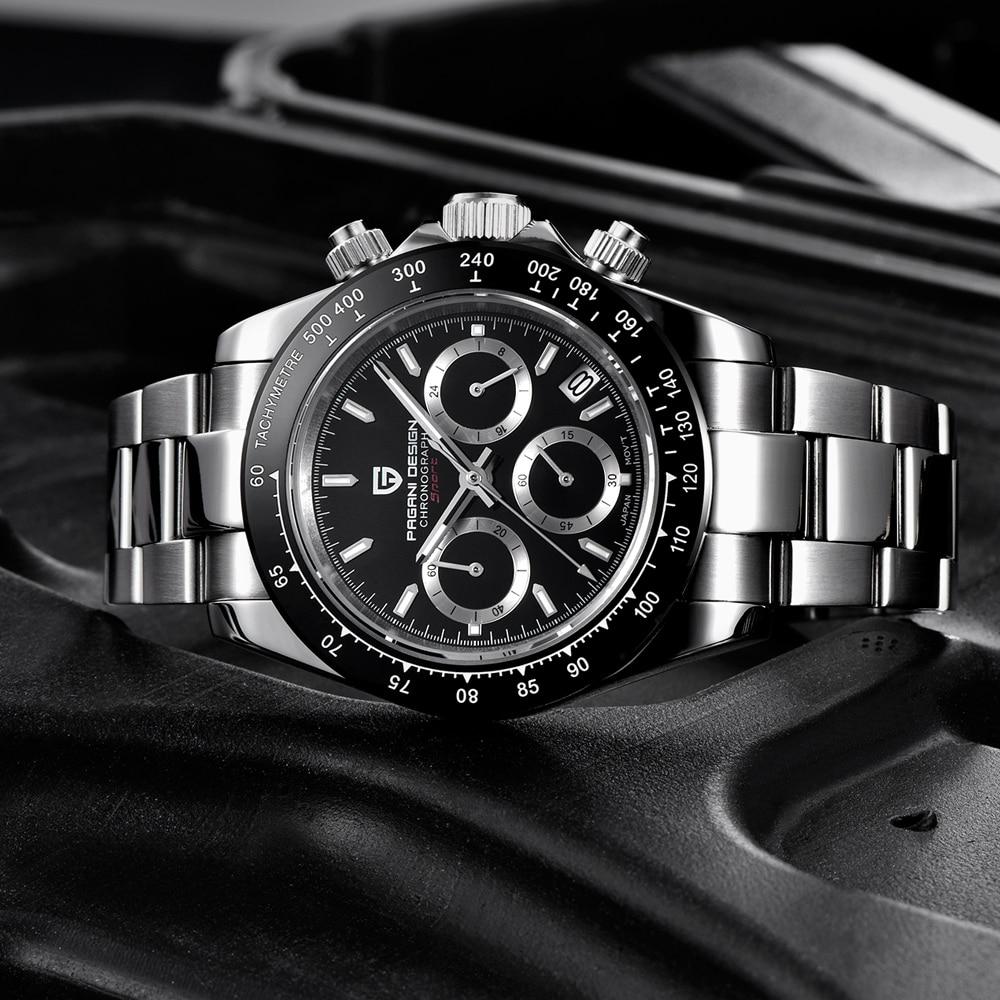 PAGANI DESIGN 2020 New Men's Watches Quartz Business watch Mens Watches Top Brand Luxury Watch Men Daytona Chronograph Relogio Masculino free drop shipping (46)