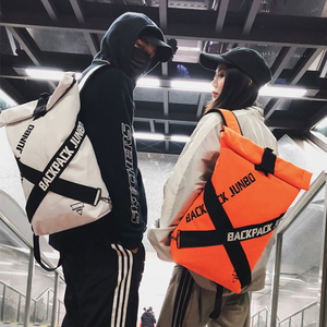 Image 1 - Couple bag Unisex Cool Backpacks Personality Fashion Oxford Cloth Bag Casual Art Unique Big Backpack Latest Popular Hip Hop Bag