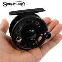 Sougayilang Portable Ice Fishing Mini Reel Drum Wheel For Freshwater Saltwater Spring Winter Fishing Reel Winter for Carp Pesca