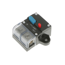 Mobil Truk Audio 250 Amp Amplifier Circuit Breaker Fuse Holder Perlindungan 12 24V(China)