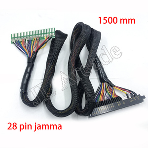 28-Pin Jamma Cable lengthened 160cm LCD Jamma Wire Harness, for Fighting Game Machine 2 Player Battle / Arcade board
