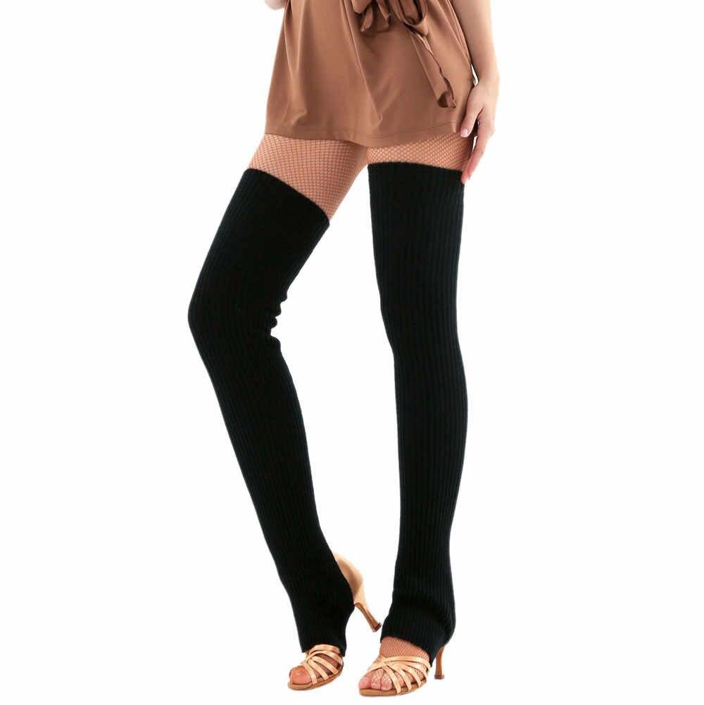 Winter Vrouwen Sokken Been Warmer Volwassen Leisure Lange Dij Hoge Voor Vrouwen Extra Lange Boot Over De Knie Knit Dance sok Beenwarmers