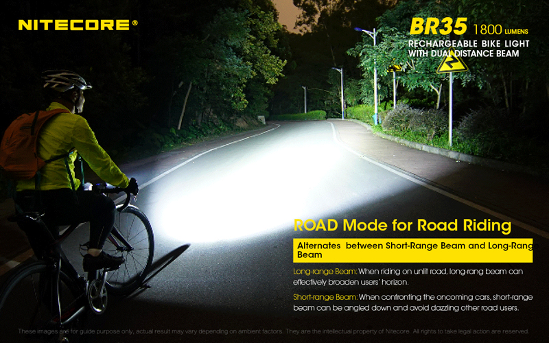 Nitecore BR35 1800 Lumens Rechargeable Bike Bicycle Front Light (8)