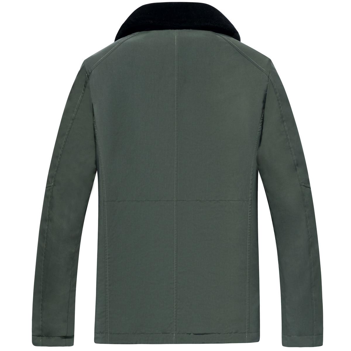 Real Coat Men's Winter Jacket 100% Wool Fur Liner Parka Men Double-side Wear Warm Parkas Plus Size Veste LSY022302 MY1221