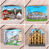 Magnetic refrigerator magnets Italy Switzerland Chile Austria European  countries Tourist attractions souvenir Home decoration 5