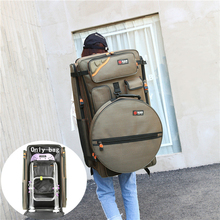 80cm Thick Nylon Wearproof Waterproof Fishing Bag Large Capacity Fishing