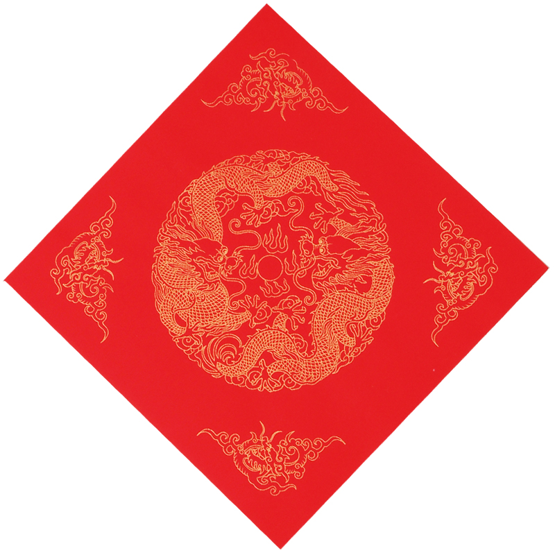 20pcs Chinese New Year Traddtional Red Xuan Paper Chinese Spring Festival Calligraphy Batik Rice Paper Decorations Rijstpapier