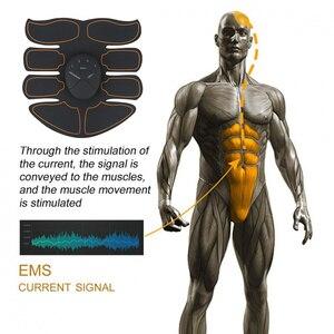 Image 5 - Yooke inteligentny akumulator Pulse stymulator mięśni elektryczny masażer wyszczuplający tłuszcz 10 sztuk samoprzylepne wymiana Unisex
