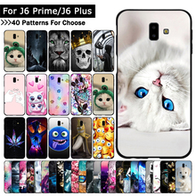 Colorful Cat Animal Case For Samsung Galaxy J6 + J610/J6 Pri