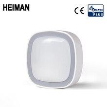 HEIMAN Z wave PIR Motion sensor home automation alarm system Z wave motion detector Zwave UE 868.4 MHZ