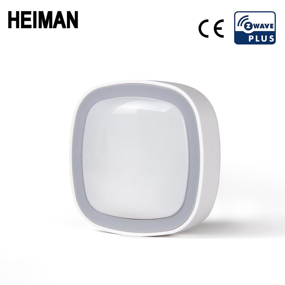 Heiman Z-wave pir sensor de movimento automação residencial Z wave sistema de alarme Zwave detector de movimento ue 868.4 mhz