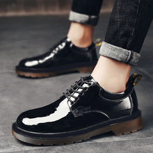 2020 Spring New Genuine Leather Men's Casual Leather Shoes H