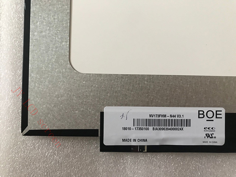 LP173WFG-SPD2 LP173WFG-SPB1 B173HAN04.0 Tela LCD EDP 40 Pinos 1920X1080
